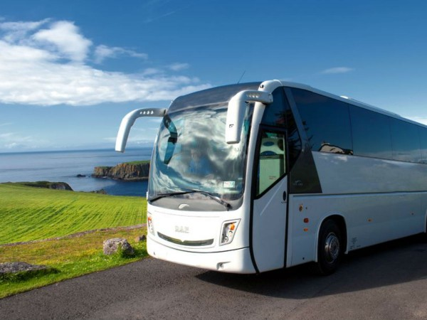 Services include Transportation by Bus on Wild Atlantic Music Tours around Ireland