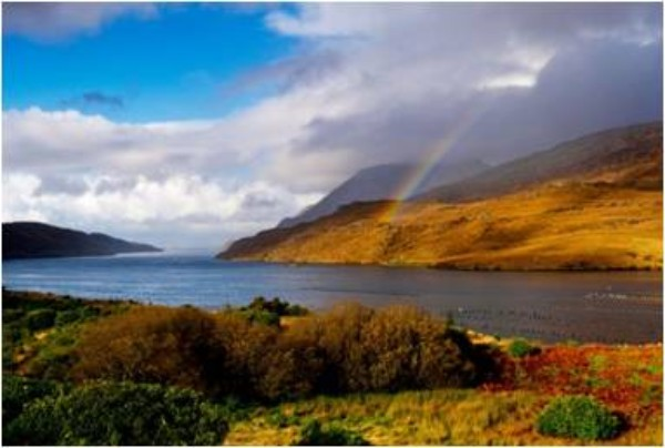 Killary Harbour in Galway - part of the sample music tour by Wild Atlantic Music Tours for Clare Kerry Galway