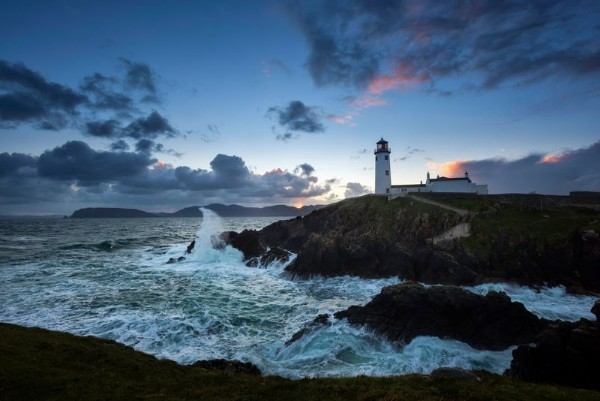 Fanad Lighthouse along the Wild Atlantic Way