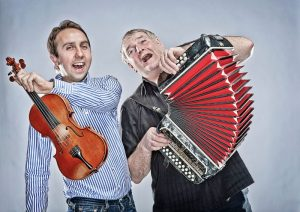 Seamus & Oisin Musicians on Wild Atlantic Music Tours in Ireland